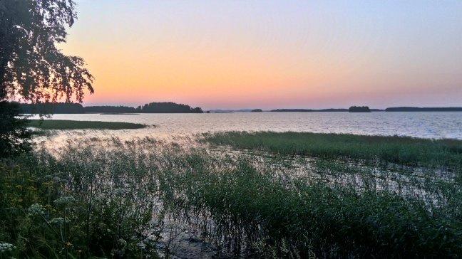 zachód słońca, Finlandia