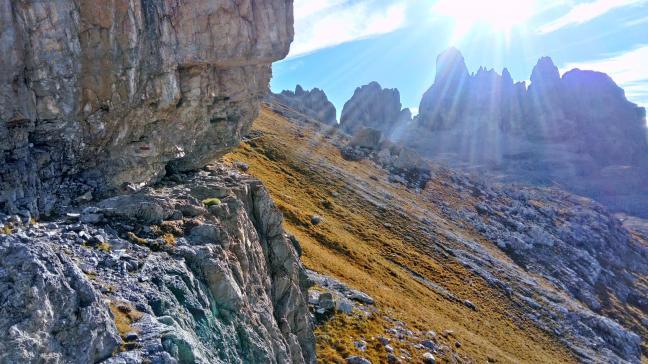 via ferraty w Dolomiti di Brenta