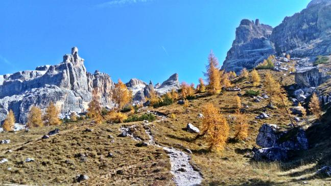 szlak do rifugio Tucket e Sella, Dolomiti di Brenta