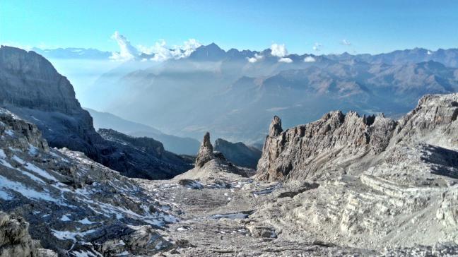 Bocca del Tuckett, Dolomiti di Brenta
