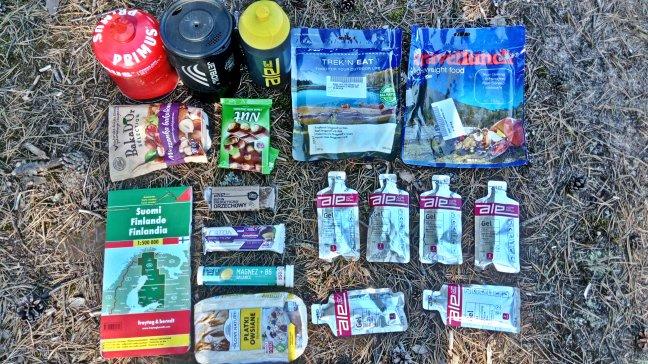 zestaw jedzenia i produktów ALE Active Life Energy
