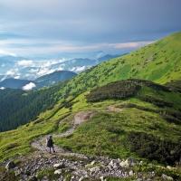 Główna grań - Niżne Tatry - kilkudniowy trek na Słowacji