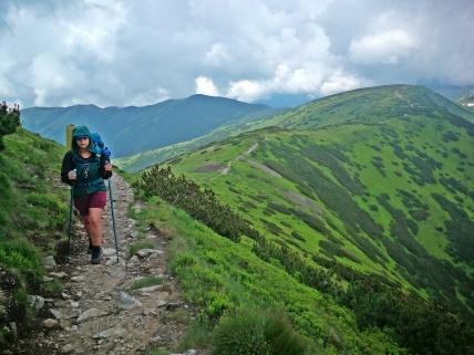 trekkingowa Balbinka, dziewczyna Cezarkosa