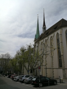katedra w Zurychu