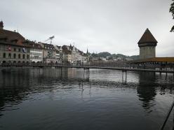 drewniany mos w Lucernie