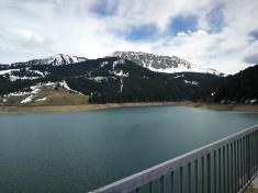 lac de l'Hongrin - tama