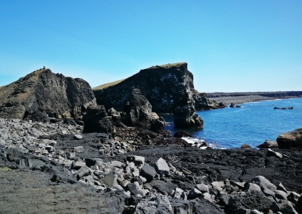 klify na pł-wsch Islandii