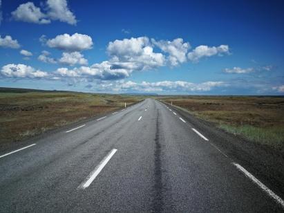 drogi południowego półwyspu Reykjanesbær