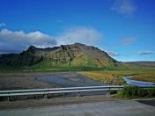 rzeki i góry południowej Islandii