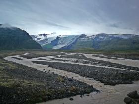 pola sandrowe pod lodowcem kolejne, Vatnajökull