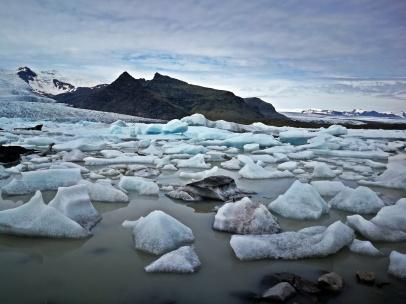 fenomenalne miejsce na południu Islandii - Jokusarlon
