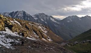 Telety pass, 3800 m npm