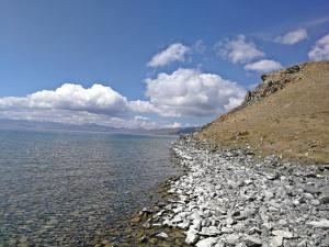 linia brzegowa jeziora