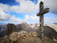szczyt ferraty Rotwand, góra Roda di Vael