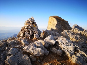 na szczycie Roda di Vael