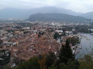 widok na Riva del Garda z Bastione