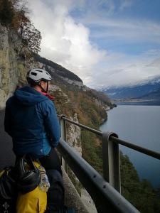 chwila ładnej pogody przed Interlaken