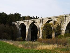 fenomenalne mosty kolejowe w Stańczykach