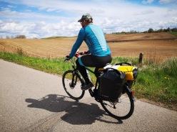 na szlaku rowerowym do Żytkiejm