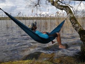 relaks nad jeziorem Studzienicznym