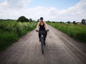 Asia na szlaku rowerowym