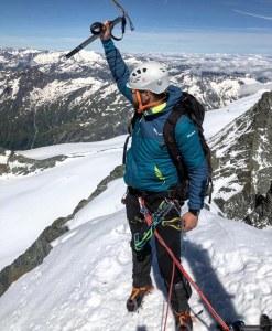 Cezarkos na szczycie Grossglockner