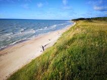 poranek nad Bałtykiem na Łotwie
