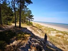 półwysep Kolka, Łotwa