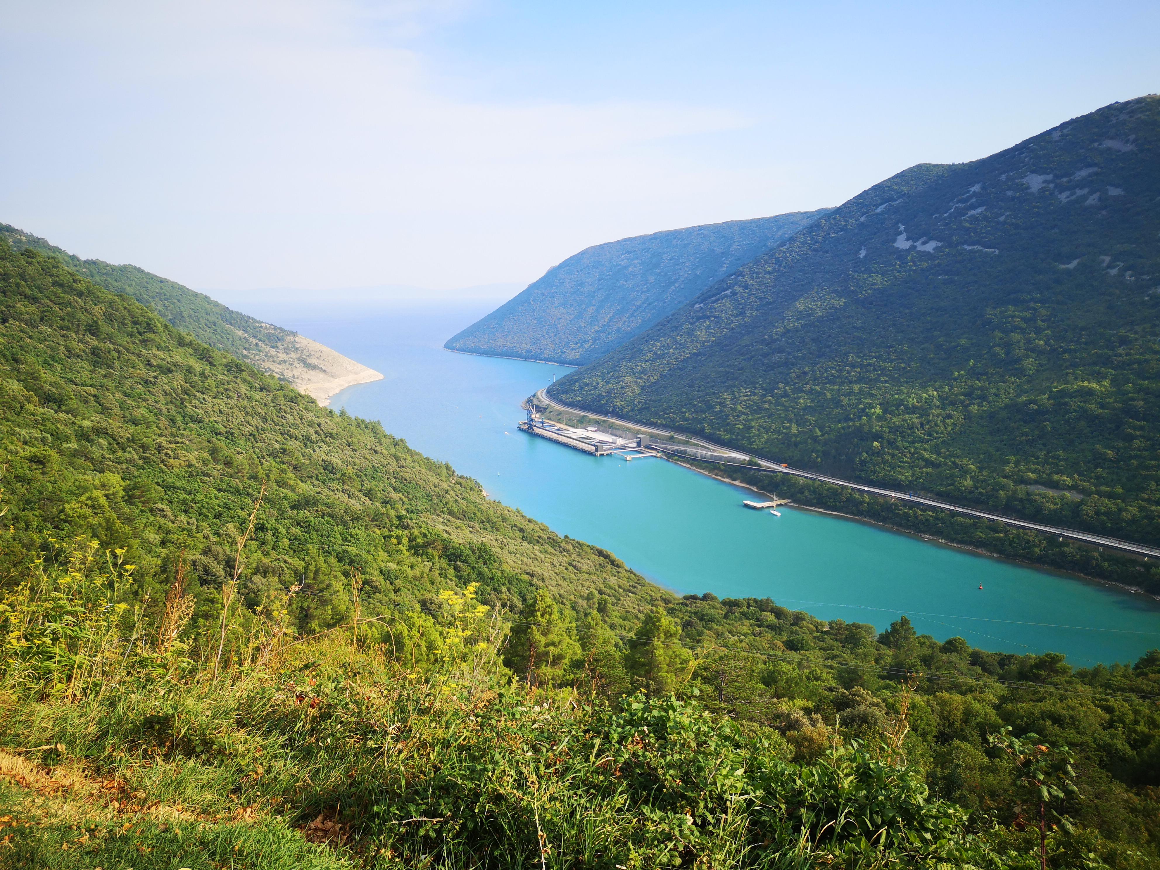 widok na zatokę Budava