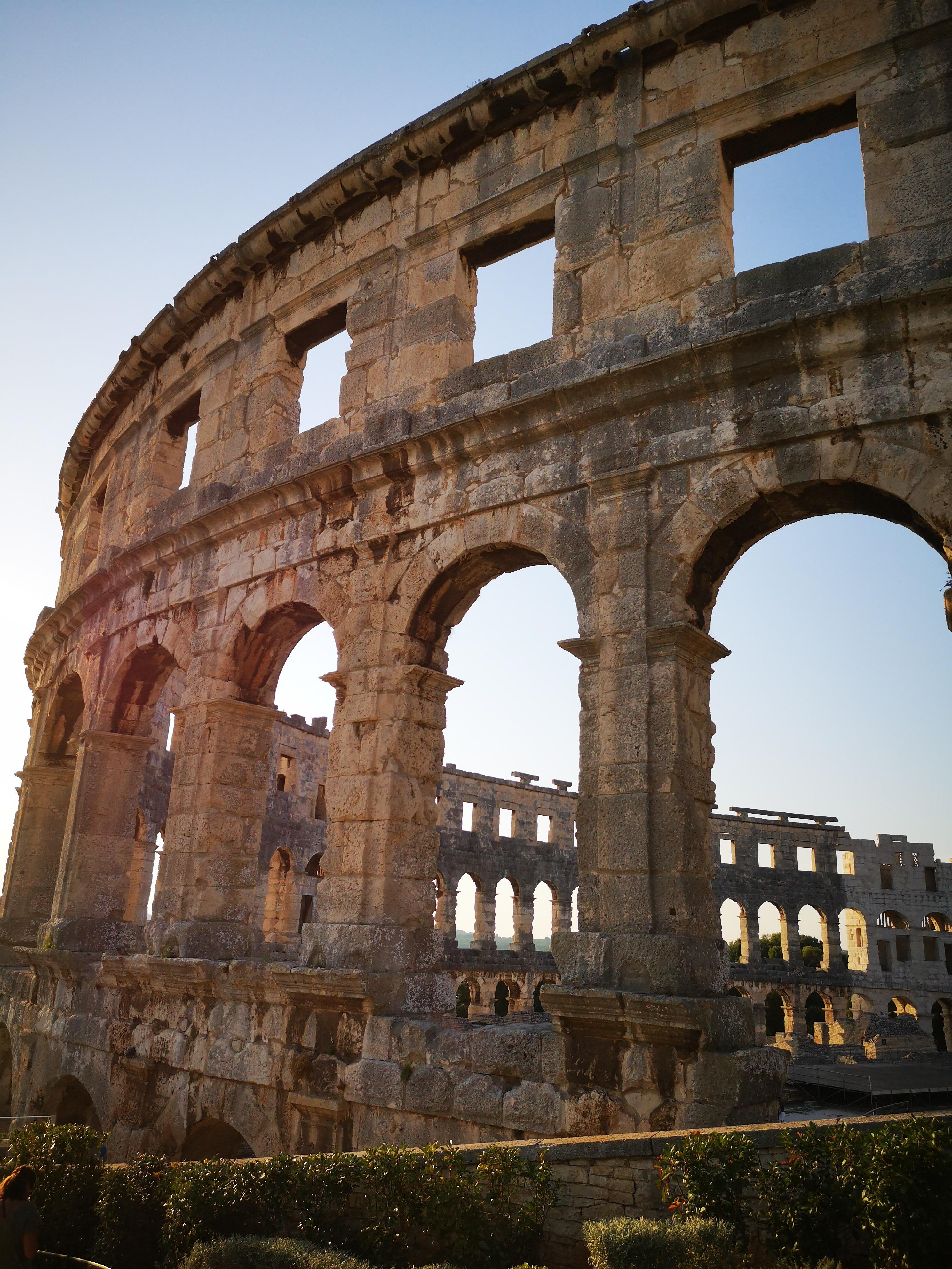 Koloseum w Puli - jedno z trzech najlepiej zachowanych na świecie