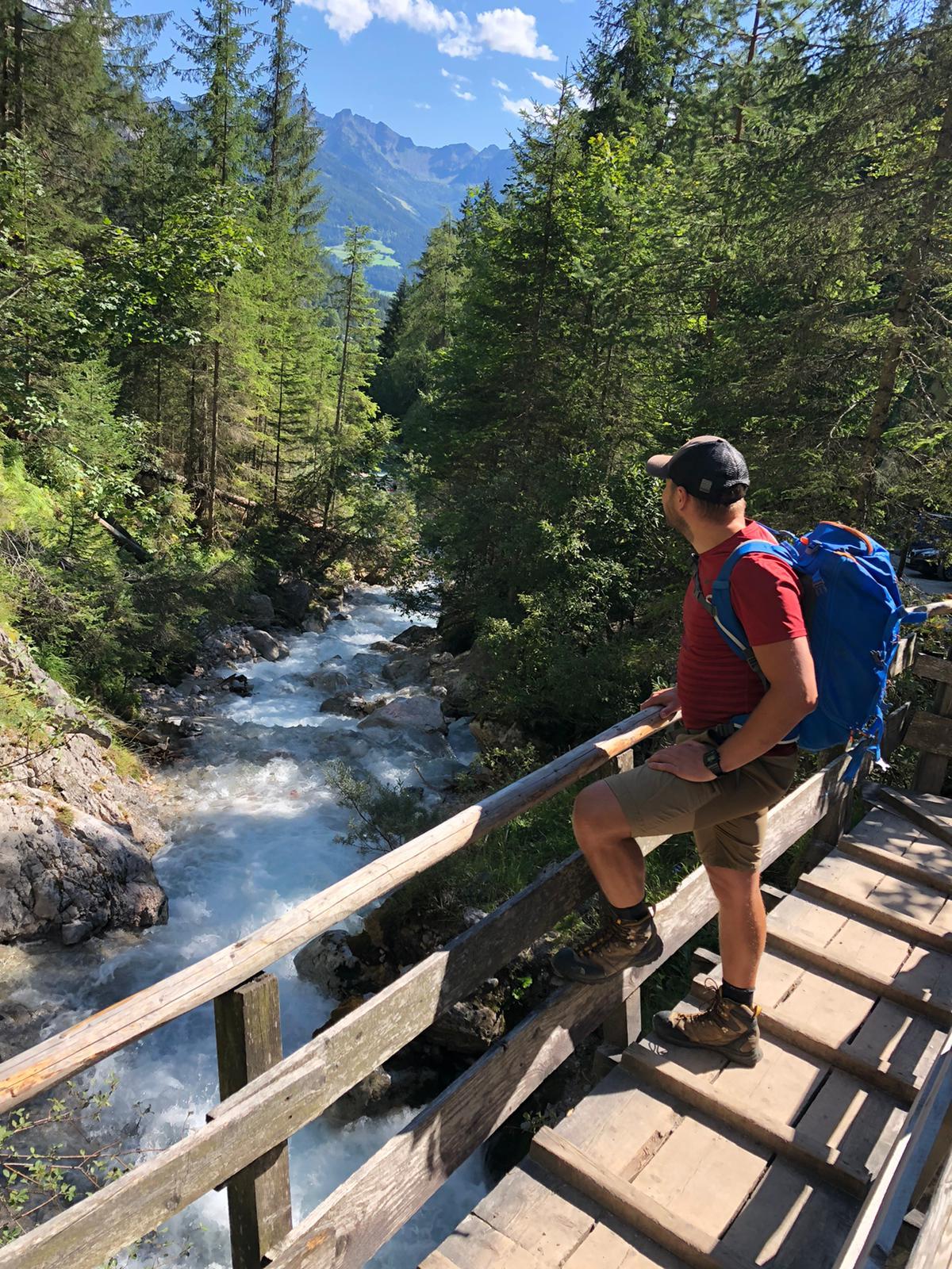 w górach Dachstein