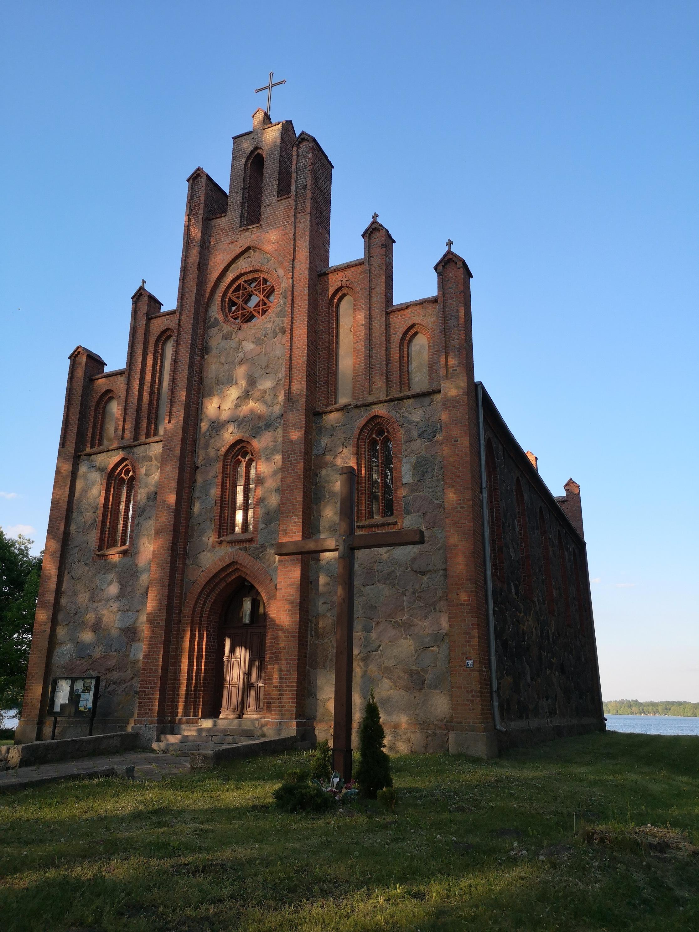 piękny gotycki kościół w Drahimiu