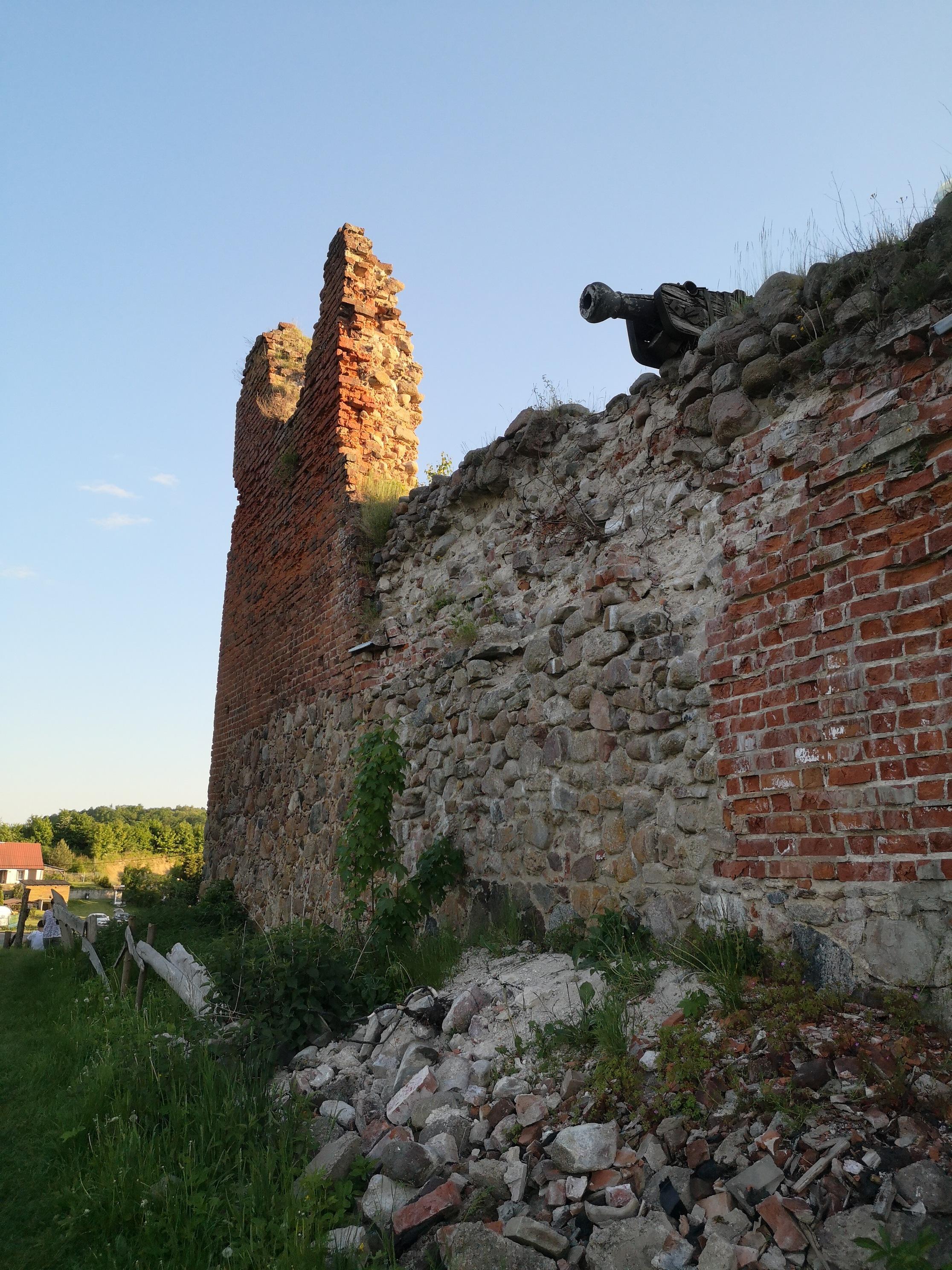zamek krzyżacki w Drahimiu