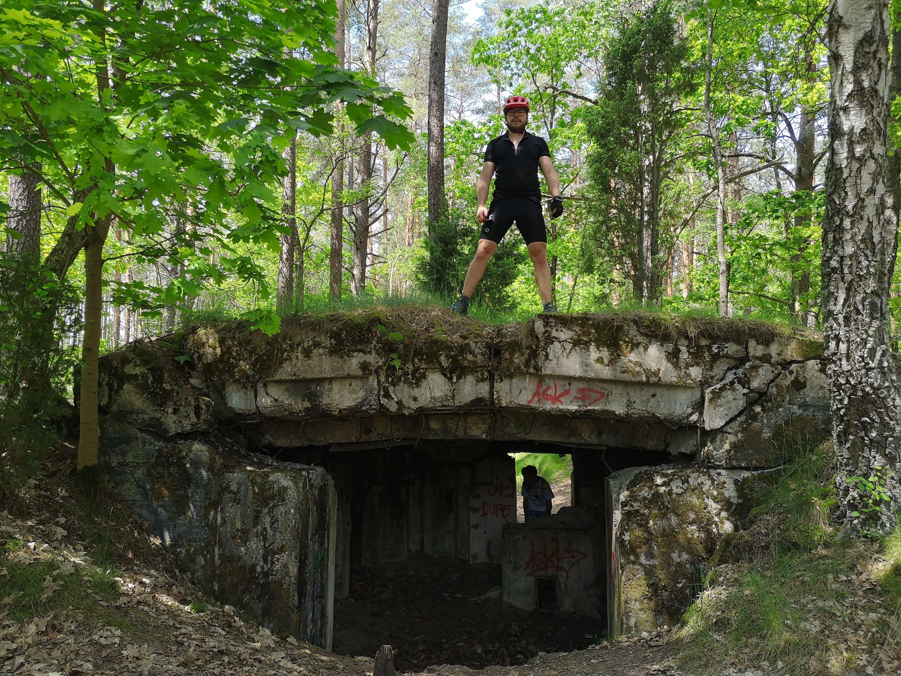 kolejny bunkier pod Bornem