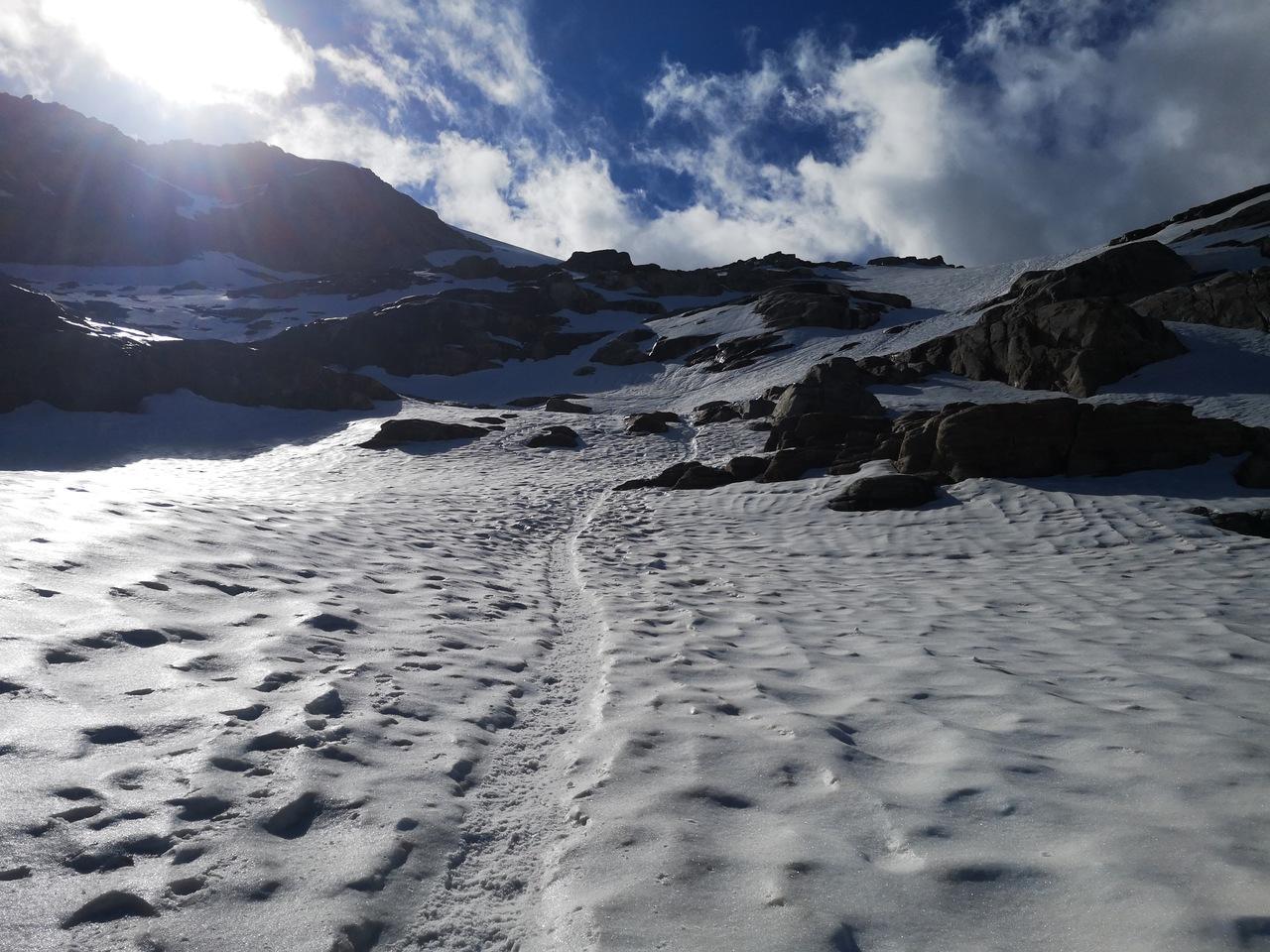 lodowiec Gran Paradiso