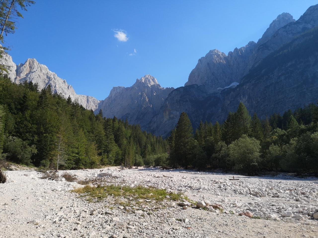 Alpy Julijskie od zachodu