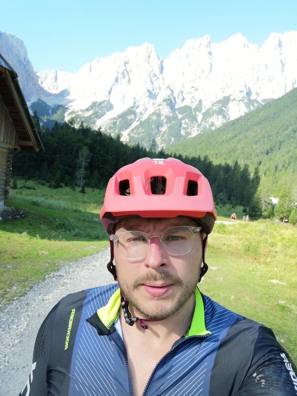 rowerem na Vrsic Pass