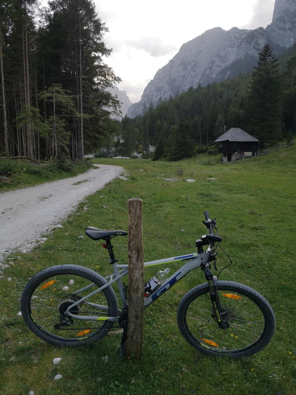 rowerem doliną Krma