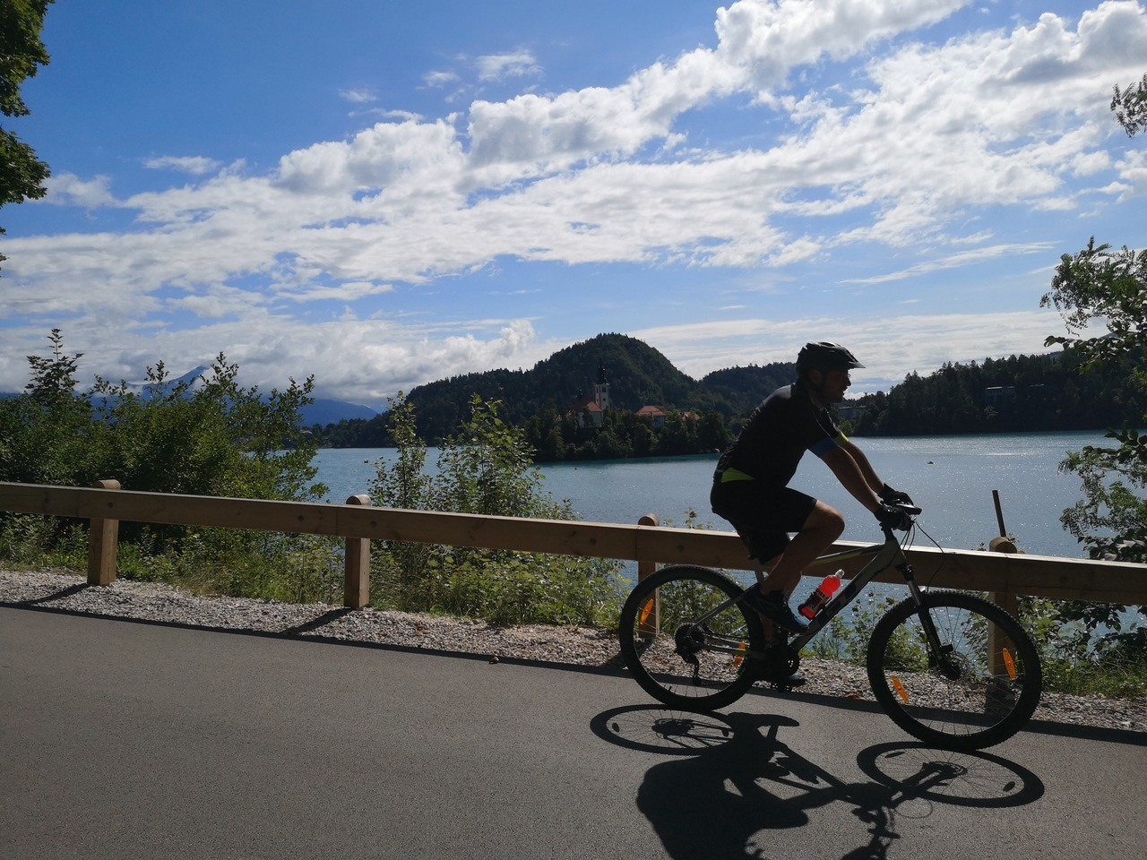 rowerem dookoła Bledu
