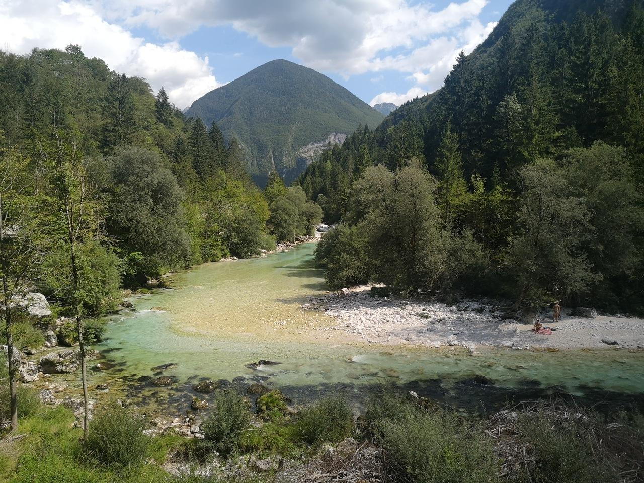 meandry pięknej rzeki
